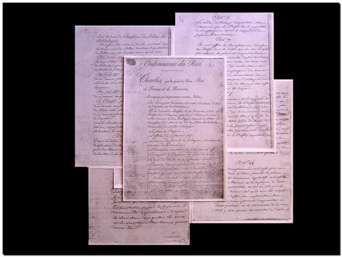 sources manuscrites imprimées